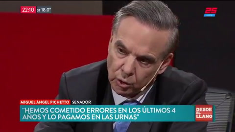 Pichetto volvió a rechazar un posible desafuero a Cristina