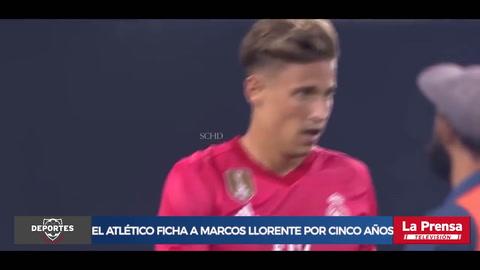 Real Madrid traspasa al centrocampista Marcos Llorente al Atlético