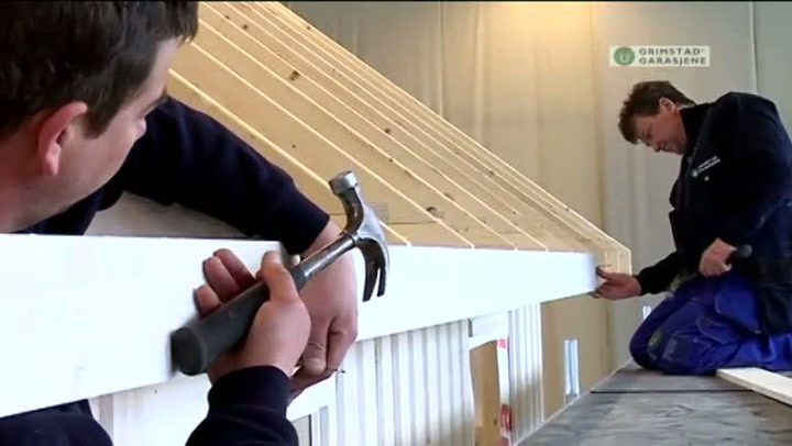 Bygge garasje: Hvordan legge undertak