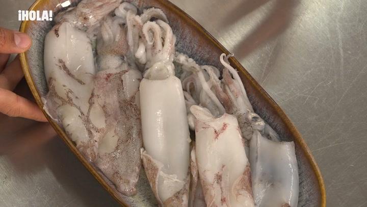 Cocina práctica: cómo detectar la frescura de un chipirón