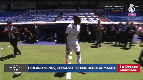 Ferland Mendy, el nuevo fichaje del Real Madrid