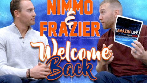 Frazier coaches Nimmo on all the things he missed!