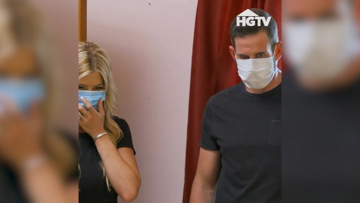 Christina Anstead and ex-husband Tarek El Moussa horrified by discovery on their show Flip or Flop