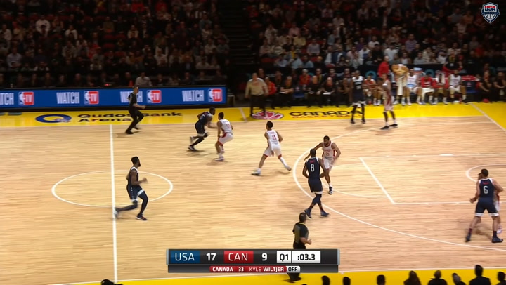 Highlights: USA MNT 84, Canada 68