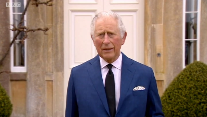 """Prince Charles delivers a moving tribute to his """"dear Papa"""""""