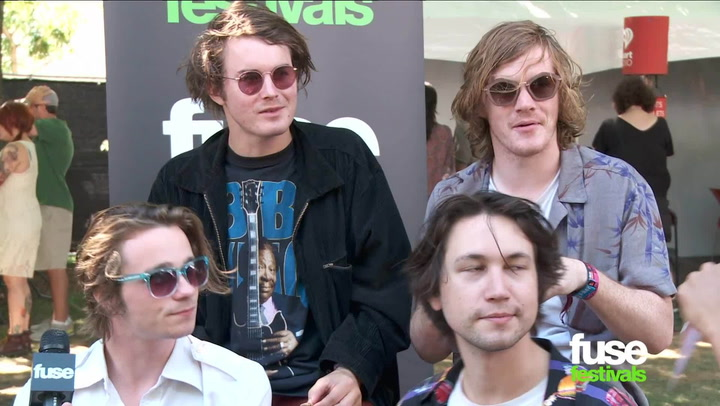 Festivals: Lollapalooza 2013:  Palma Violets Interview