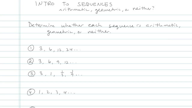 Introduction to Sequences - Problem 3