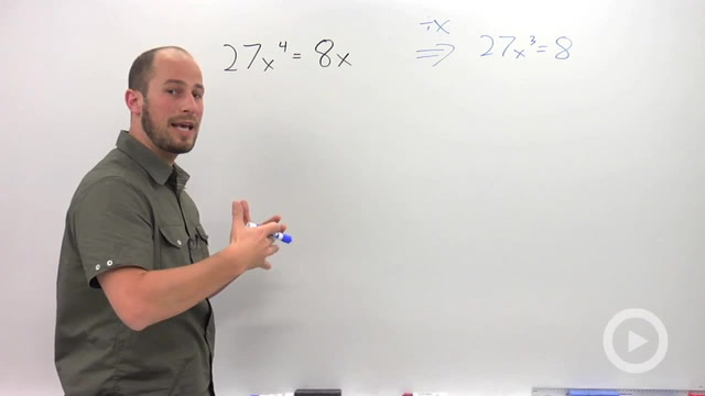Solving by Factoring - Problem 2