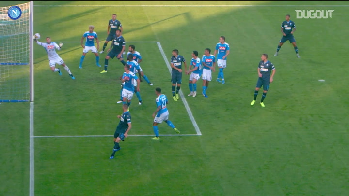 The best of SSC Napoli's goalkeepers from 2019-20