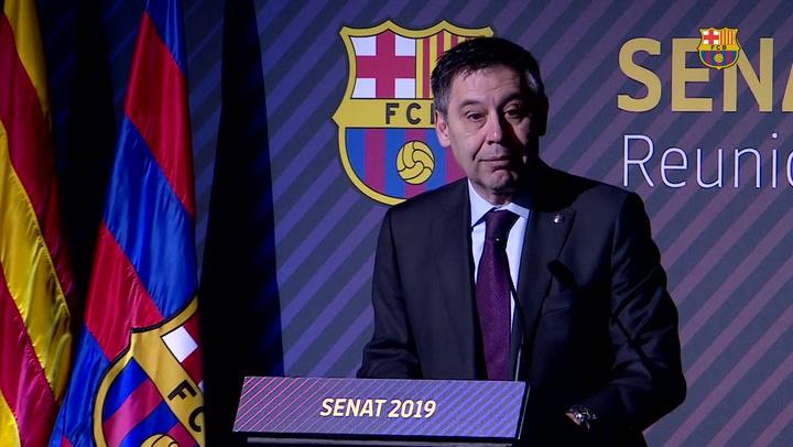 """Bartomeu: """"Confiamos plenamente en Valverde"""""""