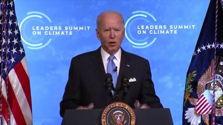 President Joe Biden had pledged to cut greenhouse gas emissions to half by 2030 during the Leaders Summit on Climate