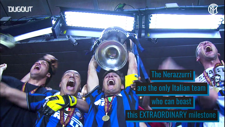 Inter's unforgettable treble season