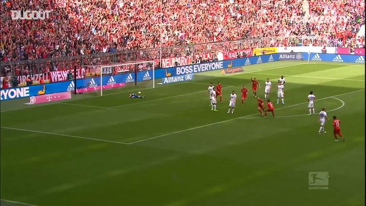Incredible Goals: Franck Ribéry Vs. Frankfurt