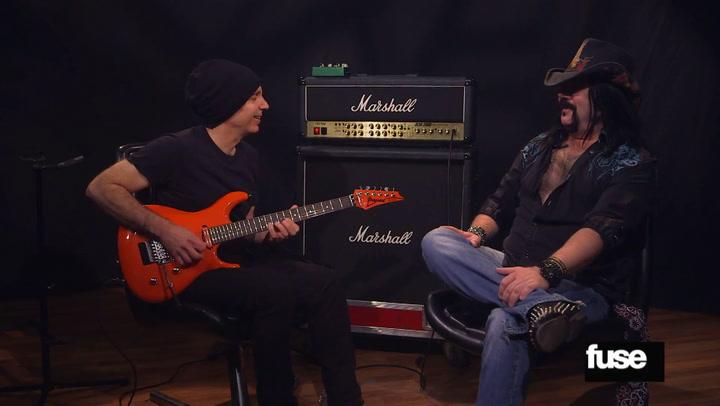 Guitarist Joe Satriani and Drummer Vinnie Paul Part 1