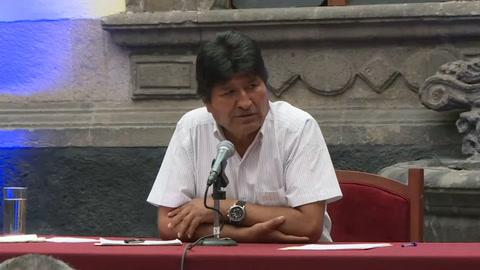 Evo Morales dice estar dispuesto a volver a Bolivia