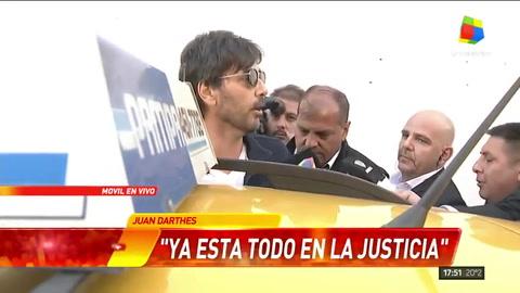Juan Darthés lleva a Calu Rivero a la Justicia