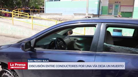 Discusión entre conductores por una vía deja un muerto en San Pedro Sula