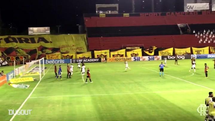 Flamengo's 3-0 away win at Ilha do Retiro