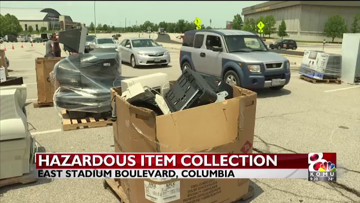 Columbia hosts hazardous waste collection event