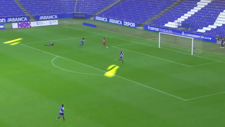 El resumen de la goleada del Atlético Féminas al Deportivo