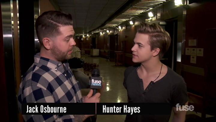 Shows: Grammys 2014: GRAMMY Nominee Hunter Hayes Didn't Prepare an Acceptance Speech