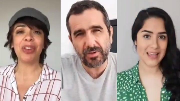 Tatiana Astengo, Giovani Ciccia, Mayella Lloclla, y otros actores reclaman por el derecho a sus regalías