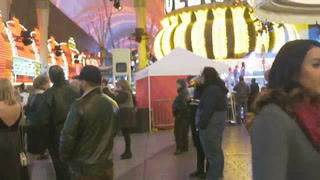 New Year's Eve live from downtown Las Vegas