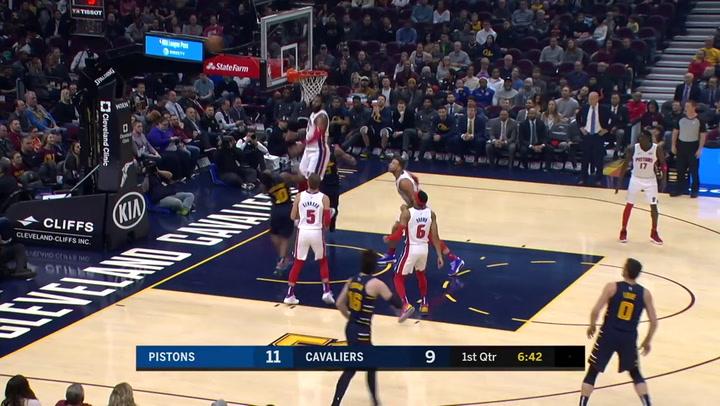 Las 10 mejores jugadas de la jornada de la NBA el 4 de diciembre de 2019