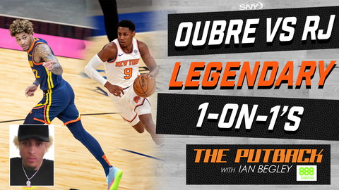 Kelly Oubre Jr. talks playing 1-on-1 with RJ Barrett | The Putback with Ian Begley