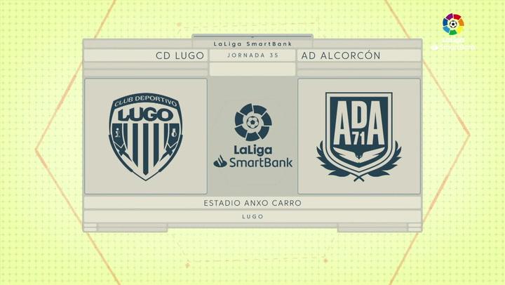 LaLiga Smartbank (Jornada 35): Lugo 1-3 Alcorcón