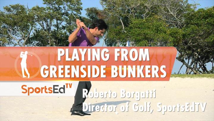 Greenside Bunker Success