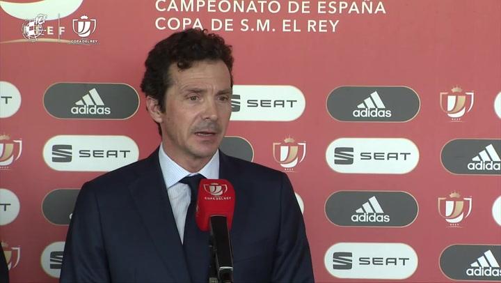 Andoni Goikoetxea y Guillermo Amor valoran el Athletic - Barça de Copa