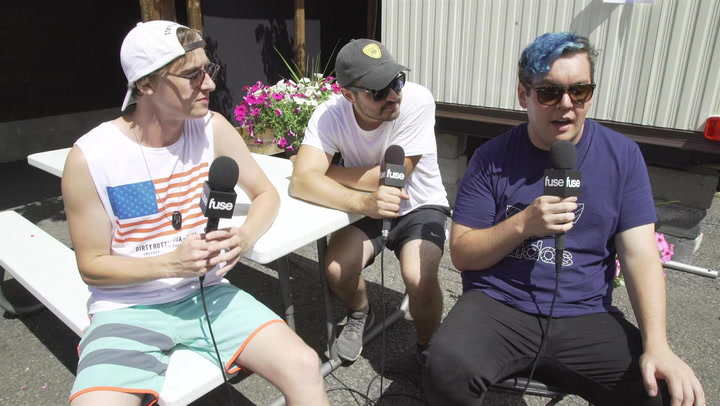 State Champs Talk About Writing On A Roof In Japan