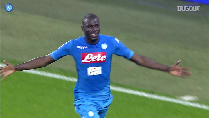 Kalidou Koulibaly's last-minute winner vs Juventus