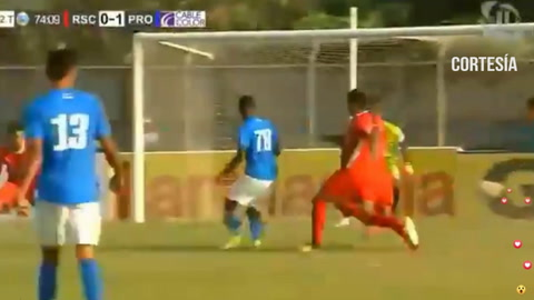 Pedro Mencía anota para Honduras del Progreso ante Real Sociedad