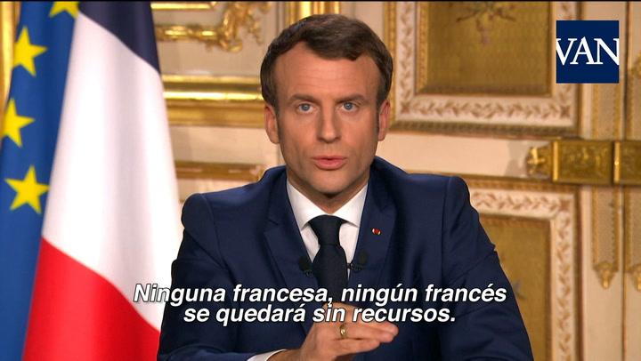 Francia asume los créditos y suspende el pago de alquileres, impuestos y recibos de luz, gas y agua