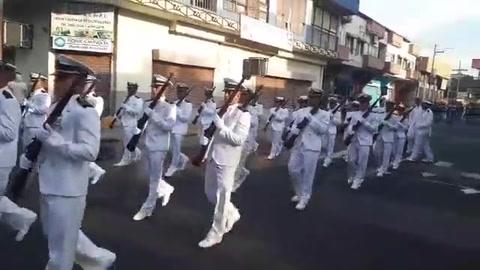 Arrancan desfiles en San Pedro Sula para conmemorar 198 años de independencia