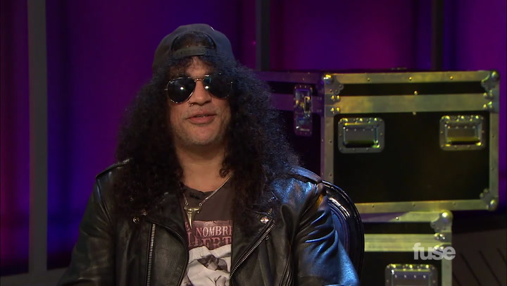 Interviews: Slash on New Album (September 2014)