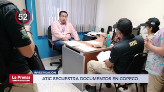 Avance Informativo: Atic secuestra documentos en Copeco por caso de hospital móvil en Villanueva