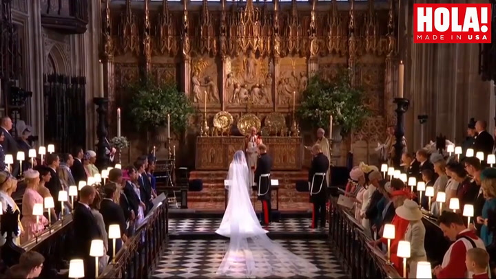 Prince Harry and Meghan Markle\'s royal wedding highlights