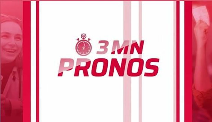 Replay 3 mn pronos - Lundi 12 Avril 2021