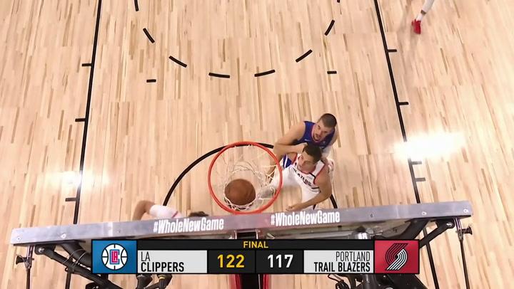 Resumen de la jornada de la NBA, el el 8 de agosto de 2020