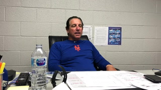 Tony DeFrancesco talks about the win over El Paso