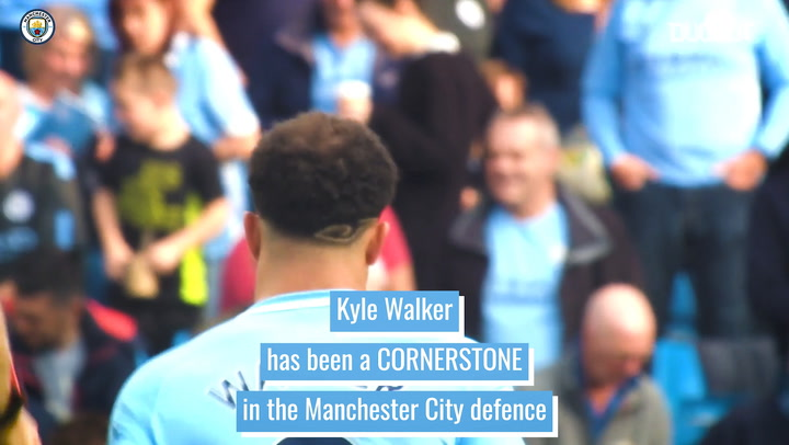 Kyle Walker: Manchester City's defensive lynchpin