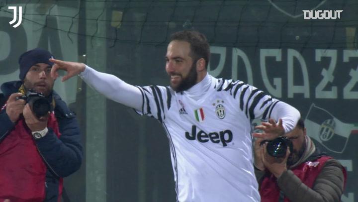 Juventus' 2-0 triumph at Crotone