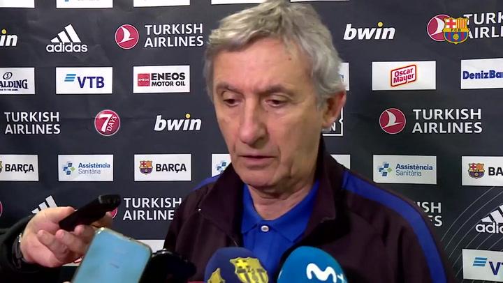 Pesic habla antes del partido ante el Olympiacos