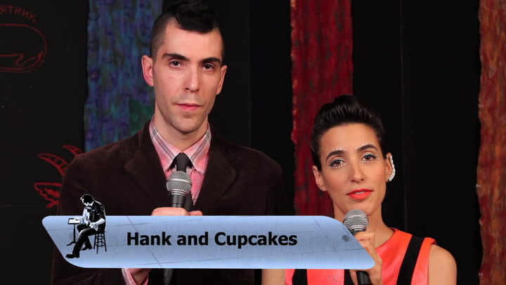 Hank and Cupcakes perform Countdown on The Jimmy Lloyd Songwriter Showcase