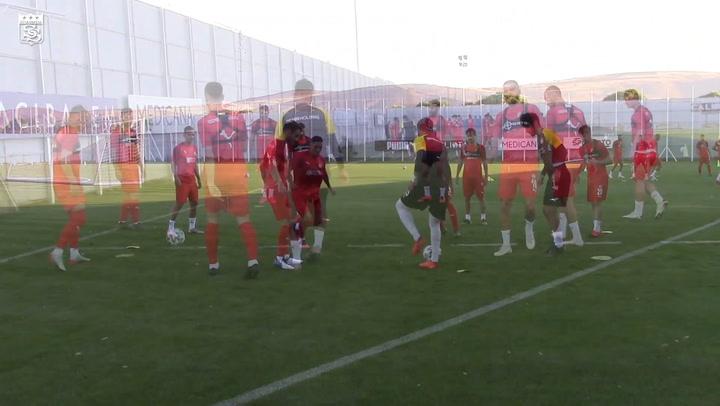 Sivasspor, Erzurumspor Maçının Hazırlıkları Başladı