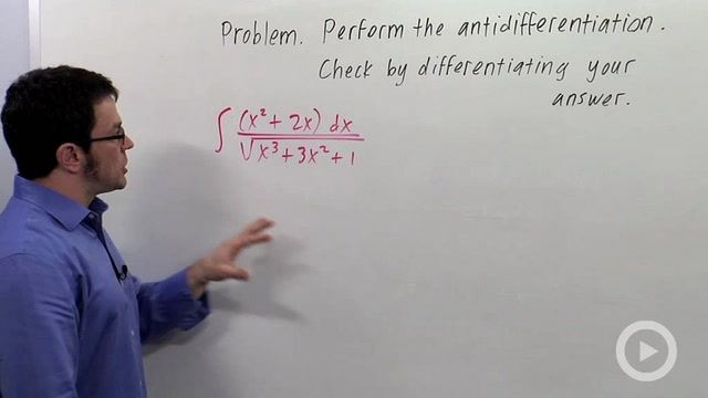 The Method of Substitution - Problem 3