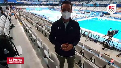 Nadadora hondureña Julimar Ávila se despide dignamente de los Juegos Olímpicos
